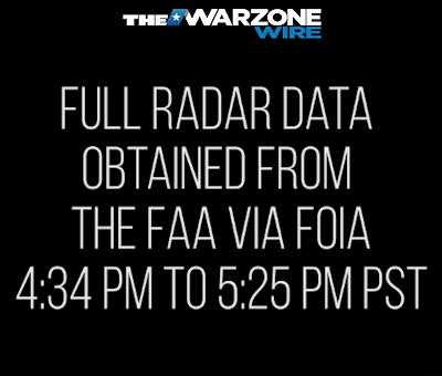 UPDATE - F-15's Scrambled Over UFO; Radar & Audio Data Released via FOIA Request