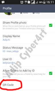 cara membuat link invite id line