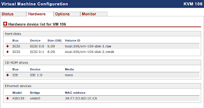 Daftar hardware virtual machine