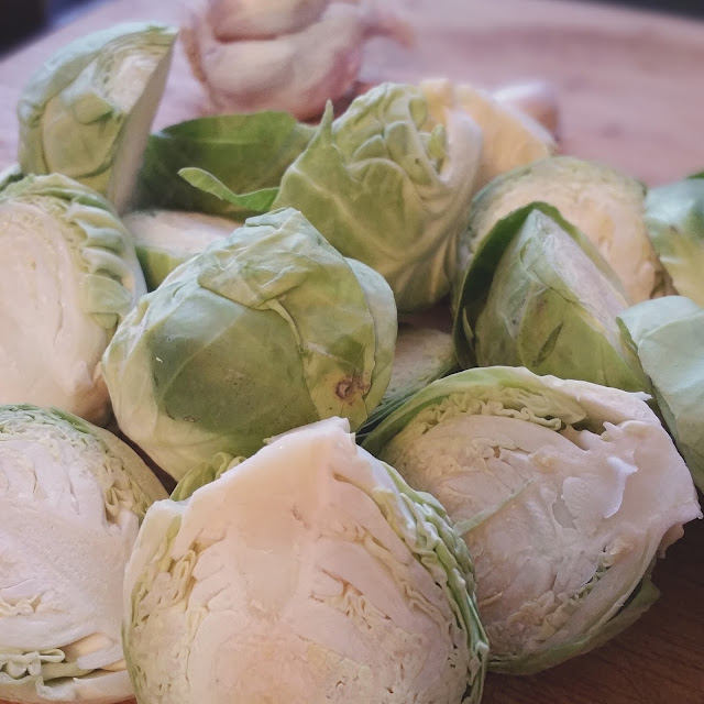 Easy Brussels Sprouts that taste good jellybeantrail dawn garnette