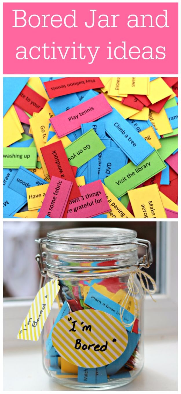DIY Hacks for Summer - Easy Projects to Try This Summer To Get Organized, Spend Time Outdoors - Bored Jar