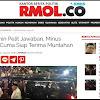 RMOL : Ma'ruf Amin Pelit Jawaban, Minus Senyuman, Cuma Siap Terima Muntahan