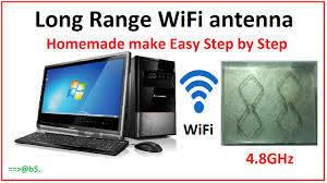 homemade long range wifi signal booster