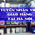 Tuyển nhân viên giao hàng chất tẩy rửa công nghiệp tại Hà Nội