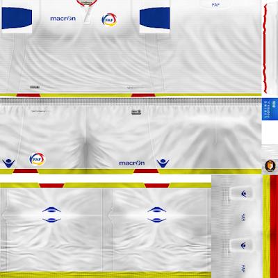 PES 6 Kits Andorra National Team Season 2018/2019 by WindowOp