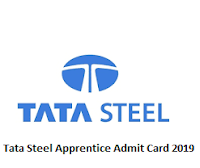 Tata Steel Apprentice Admit Card