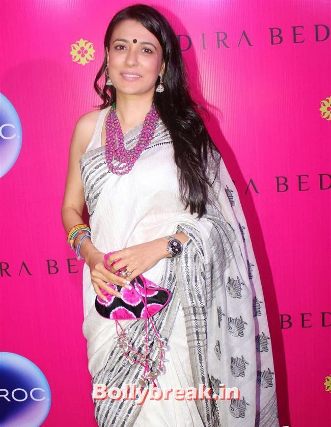 Mandira Launches her new Sari Store, Mandira Bedi Sari Store Launch Photos