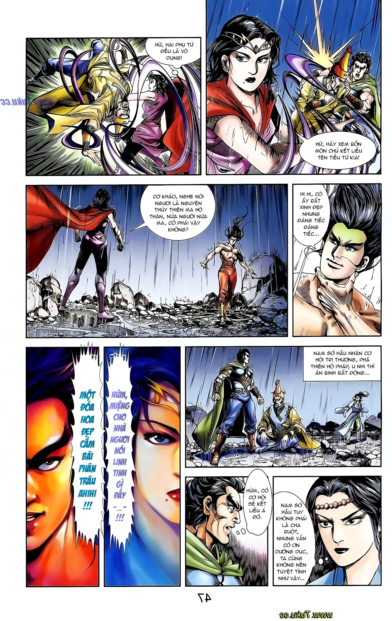 Cơ Phát Khai Chu Bản chapter 130 trang 16