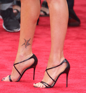 5 los pies de Megan Fox