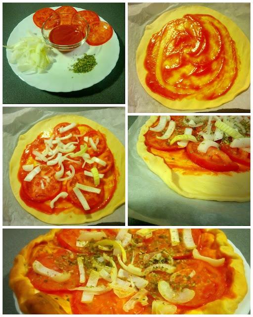 la mejor pizza dE CEBOLLA