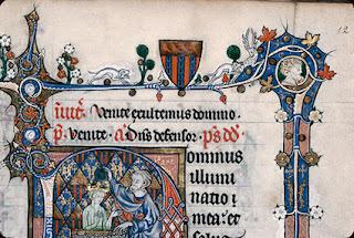 Bréviaire de Renaud de Bar, folio 12