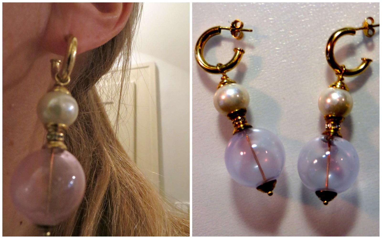 flea market ear rings from Budapest