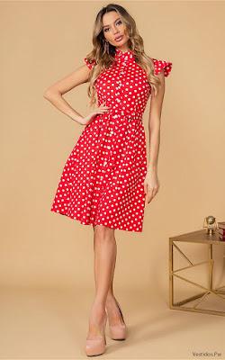 Vestidos Rojos Casuales