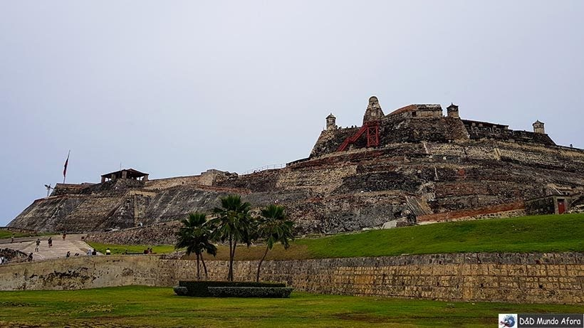 Castillo de San Felipe - O que fazer em Cartagena, Colômbia