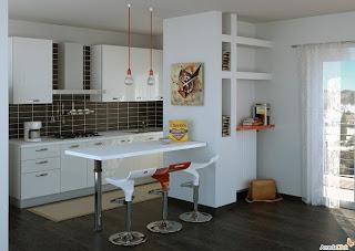 Separar cocina y sala