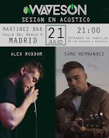 Concierto de Alex Roddom y Samu Hernandez en Martinez Bar