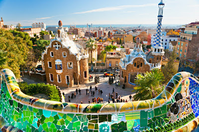 BARCELONA | PARC GUELL 2016