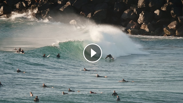 Surfing Dbah Wall Sunday 2nd August 2020