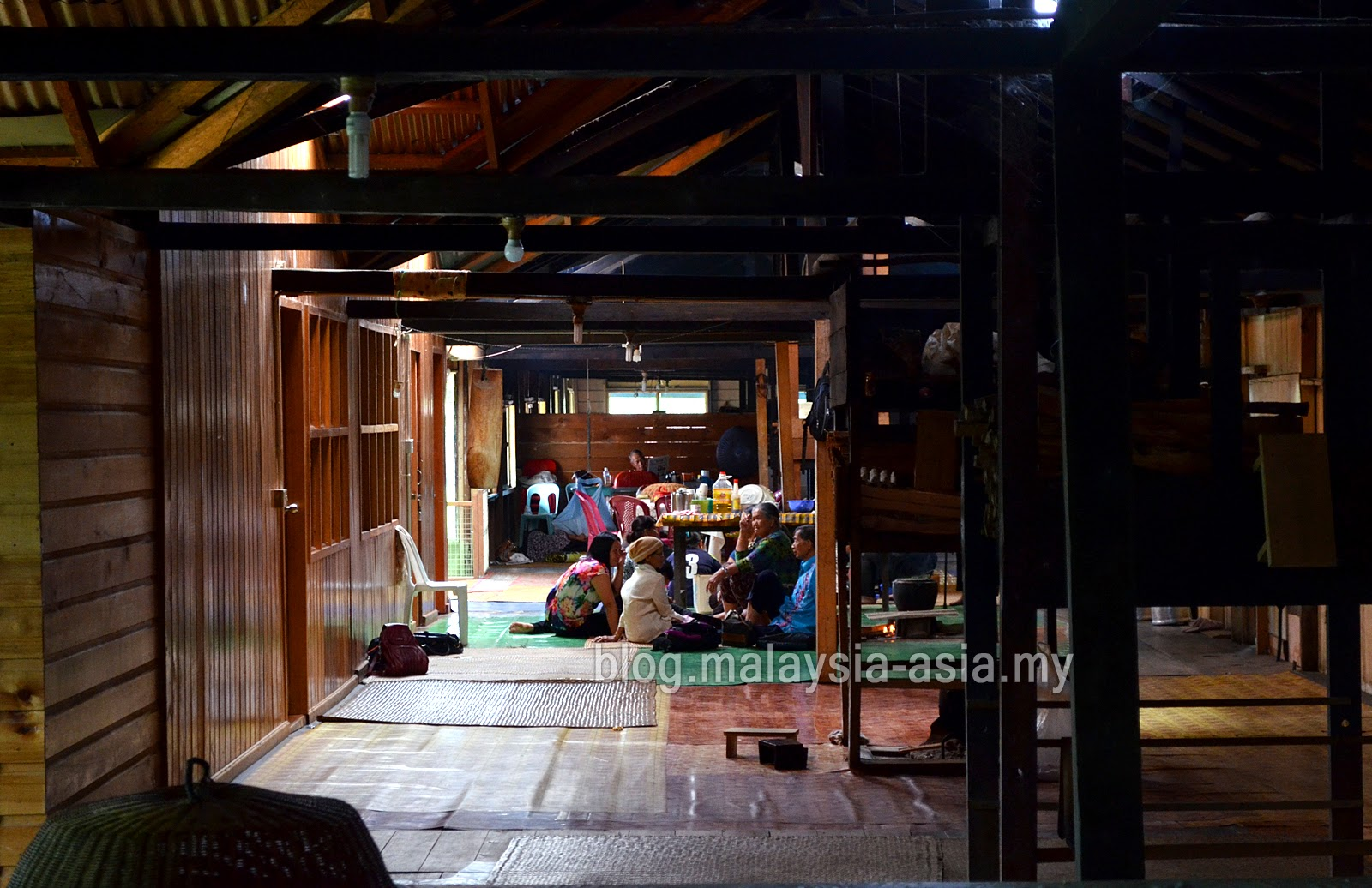 Kelabit Longhouse Kitchen