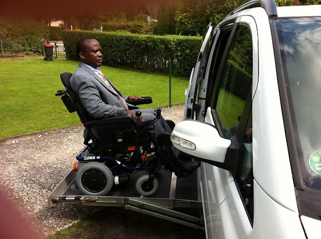 Pastor's 8-year journey into paralysis - Apostle Michael Ntumy