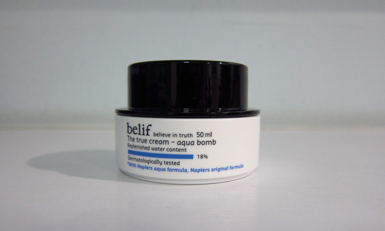 Belif's Peat Aqua Bomb Moisturizer