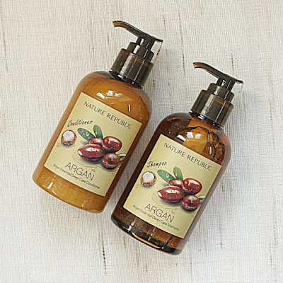 Nature Republic Argan Essential Deep Care Shampoo & Conditioner
