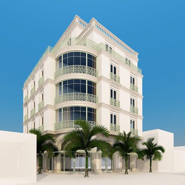 Thiết kế kiến trúc khách sạn Lief Saigon