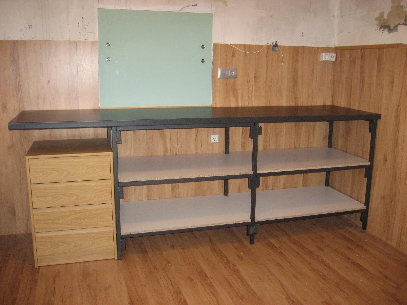 entre viejos trastos renovando la cocina. Black Bedroom Furniture Sets. Home Design Ideas