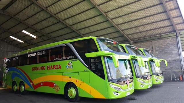 Daftar Harga Tiket Bus Guung Harta Terbaru Oktober 2017