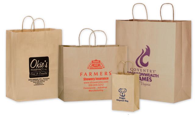 In túi giấy Kraft giá rẻ các loại tại Hà Nội - Nhận in túi giấy tái chế số lượng ít, in hồng hạc