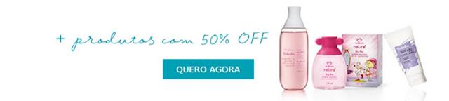 Loja Natura Online Pronta entrega produtos com 50% de desconto
