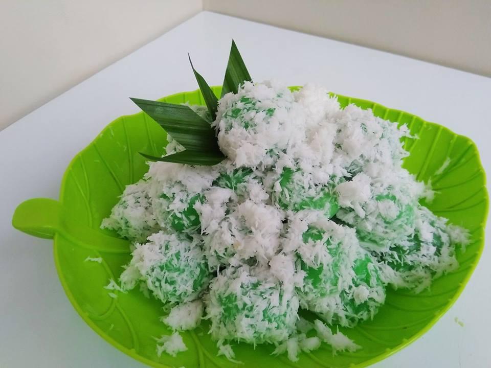resep Klepon Pandan Isi Gula Merah - Dapur Nadda