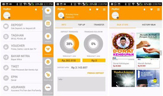4 Aplikasi Pembayaran dan Beli Pulsa Online Android
