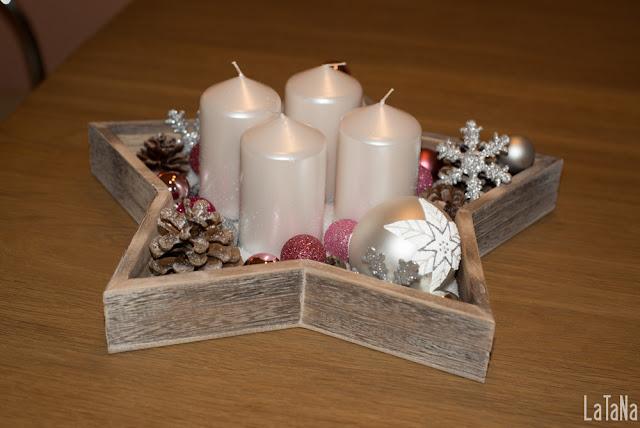 Stern, Kerzen, Weihnachten, Xmas