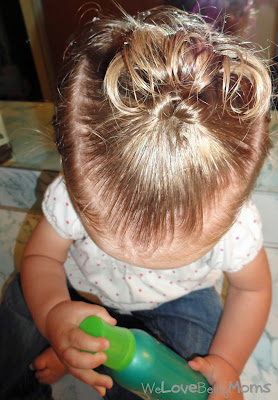 how to put short hair up with bobby pins