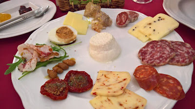 Appetizer at Osteria U Suliccenti.