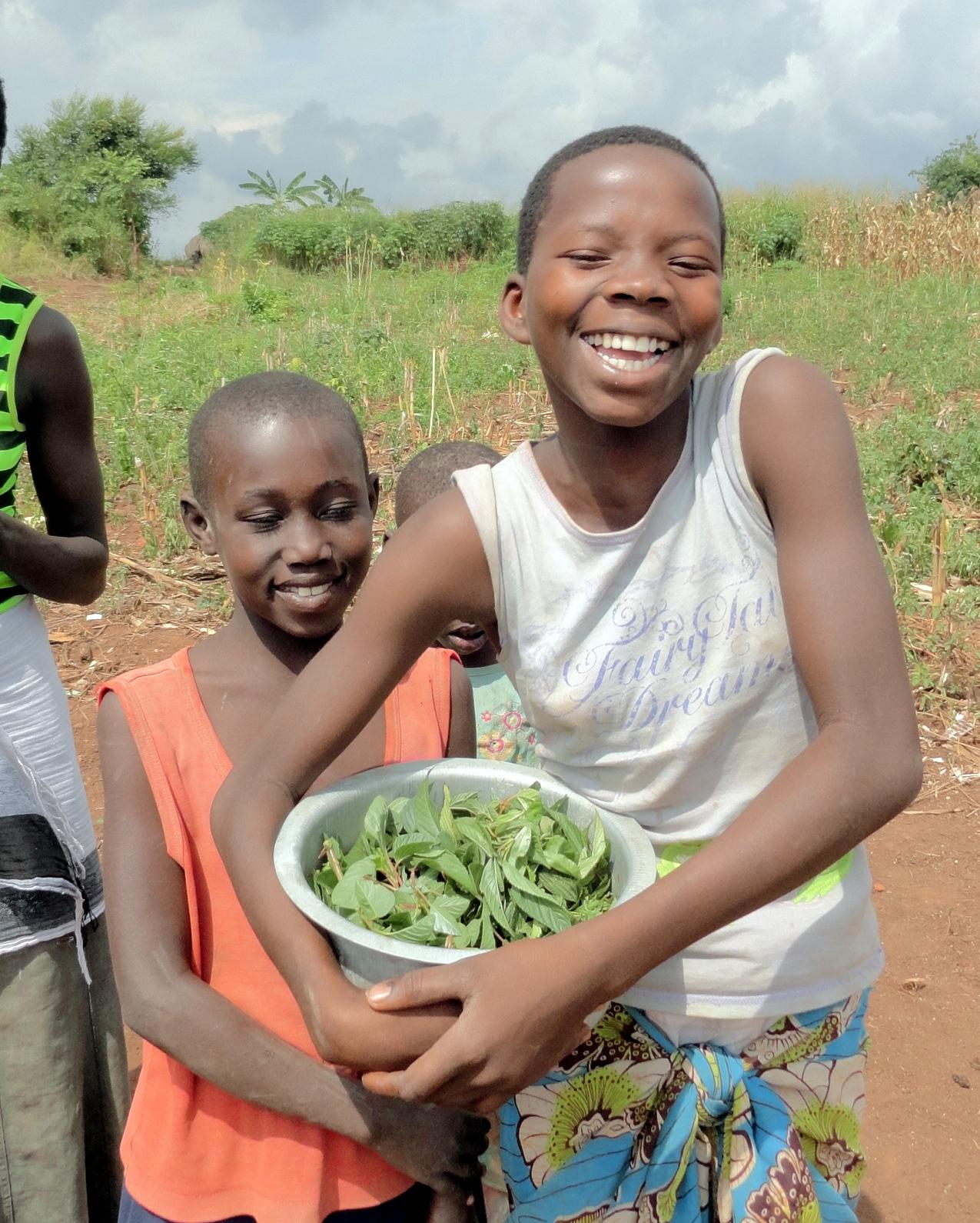 teenage girl in uganda