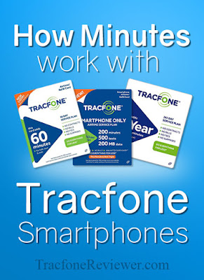 tracfone smartphone airtime minutes