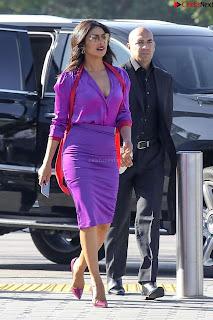 Priyanka Chopra in Beautiful Purple at universal studios ~ .xyz Exclusive 007.jpg