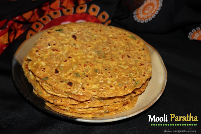 images of Mooli Paratha / Mooli Ka Paratha / Muli Paratha / Radish Paratha / Mullangi Paratha -Indian Bread Recipe