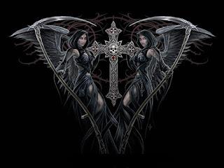 Dessin gothique trouvé sur le net