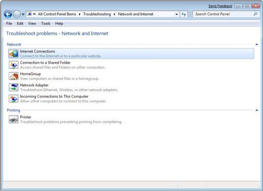 Cara Memperbaiki Jaringan di Windows 7