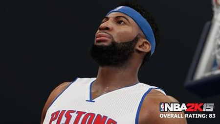 NBA 2K15 Andre Drummond Screenshot & Rating