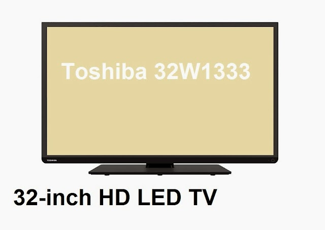 Toshiba 32W1333 LED TV specifications