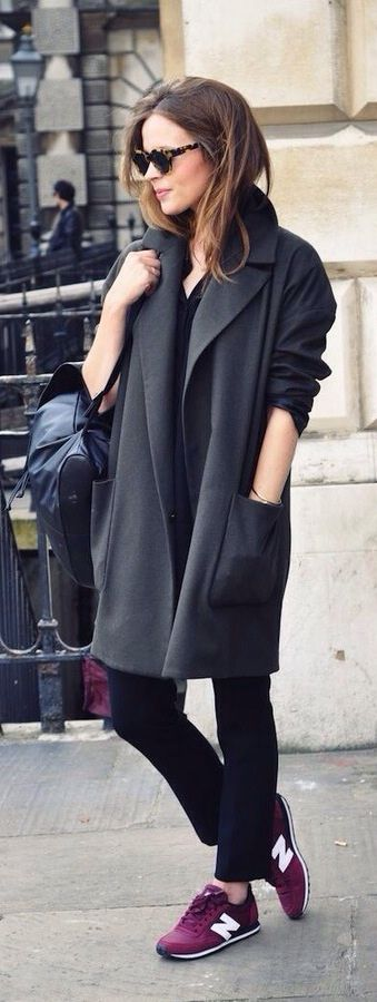 stylový kabát