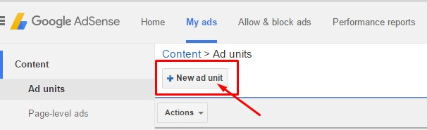 Adsense Ads Unit