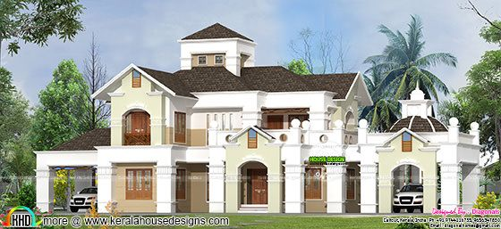 Colonial home at Calicut