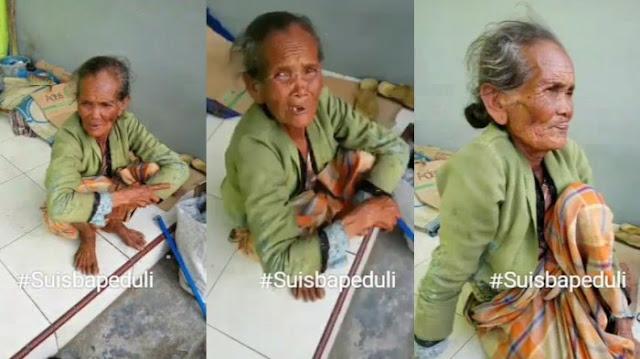 SEDIH! Nenek di Brebes Ini Ditelantarkan Anaknya Sendiri