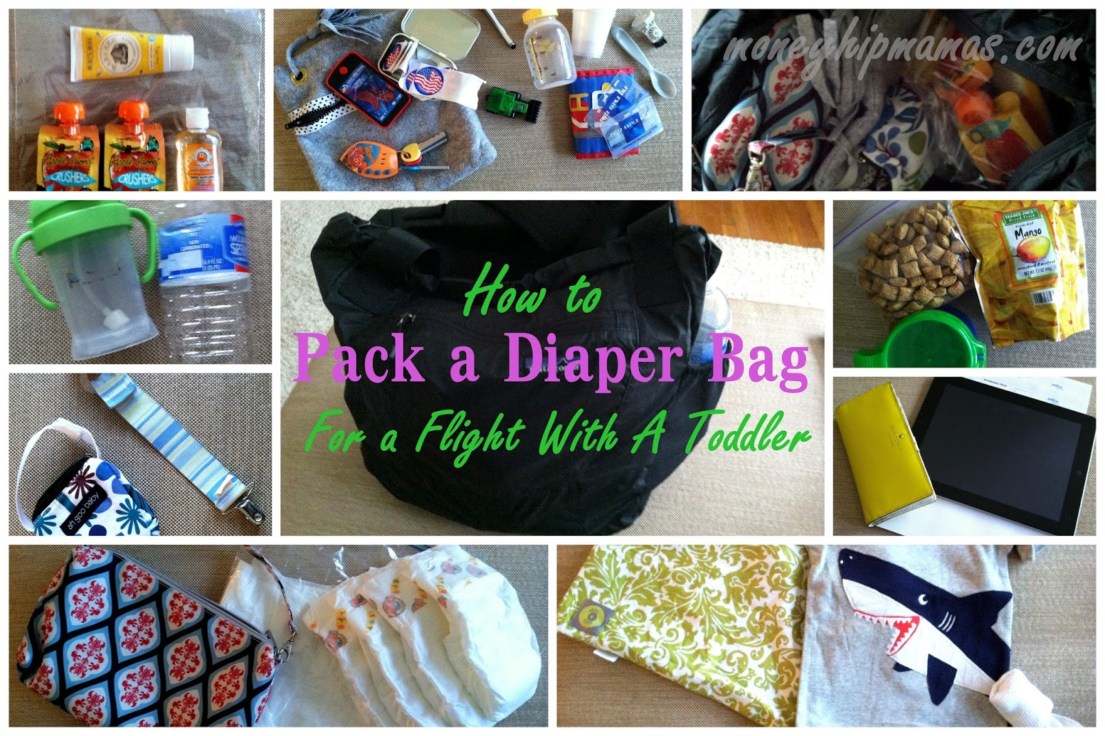 And By How To Pack A Diaper Bag For Flight With Toddler I Really Mean