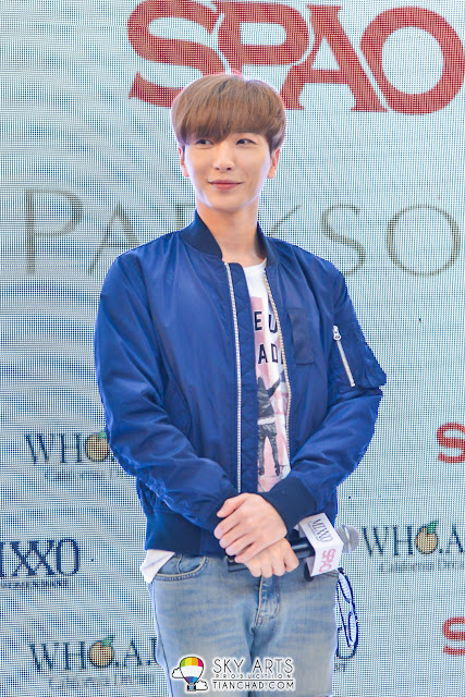 LeeTeuk @ SPAO Malaysia Launch in PavilionKL